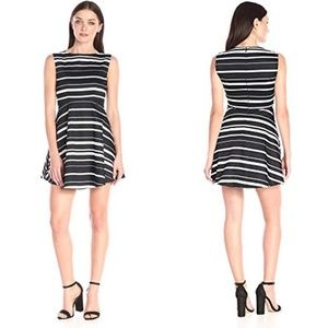 French Connection Feather Ruth Joshua Stripe Dress